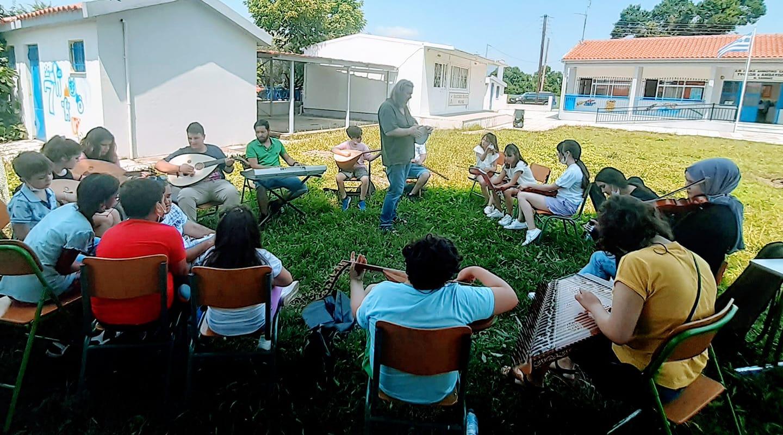 Στο σχολείο τυφλών Φελώνης το εργαστήρι «Θράκης Νότα»