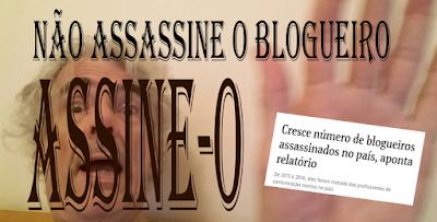 Não assassine o blogueiro