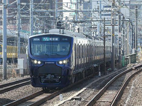 埼京線 各駅停車 池袋行き4 12000系
