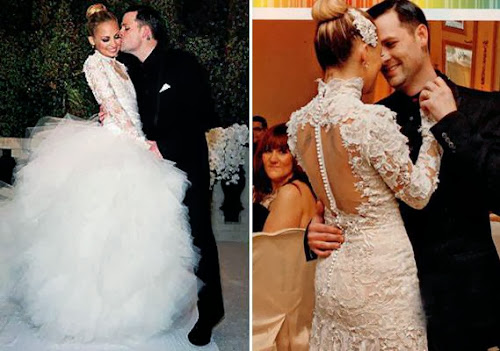 "35f00e3ed1daf Kate Hudson's Vera Wang Wedding Dress in ""Bride Wars"" 
