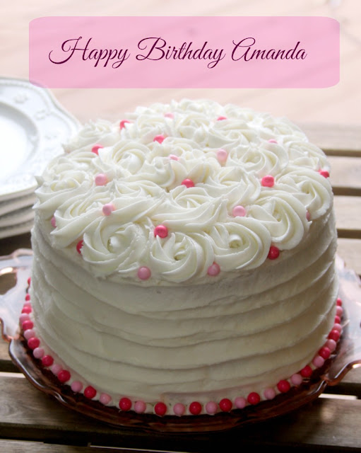Best Cake Images For Girlfriend : Crazy for Cookies and more: Amanda s Birthday Cake
