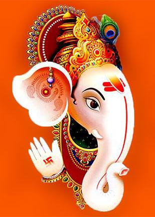 hindu God ganesh 4k wallpaper download