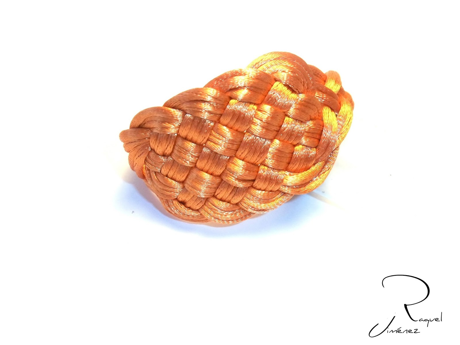 brazalete nudo celta naranja
