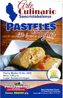 Anuncian Degustación de Pasteles en Hojas