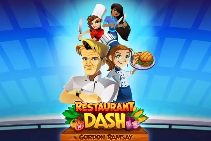Game memasak terbaik di Android, Restaurant Dash: Gordon Ramsay