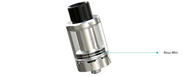 Reux Mini Atomizer can fit well with most of mods