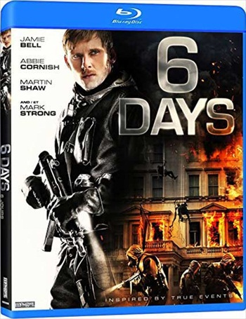 6 Days 2017 English 720p BRRip 850MB ESubs