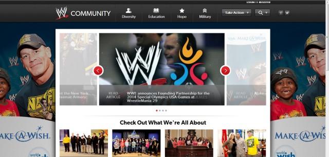 WWE ya tiene un sitio oficial para sus acciones de caridad