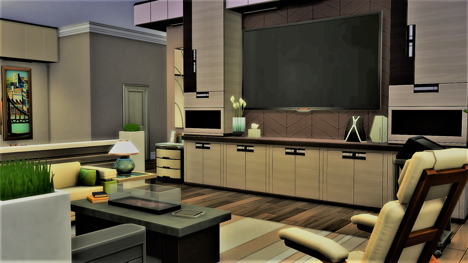 sim house design workshop: sims 4 traditional modern apartment