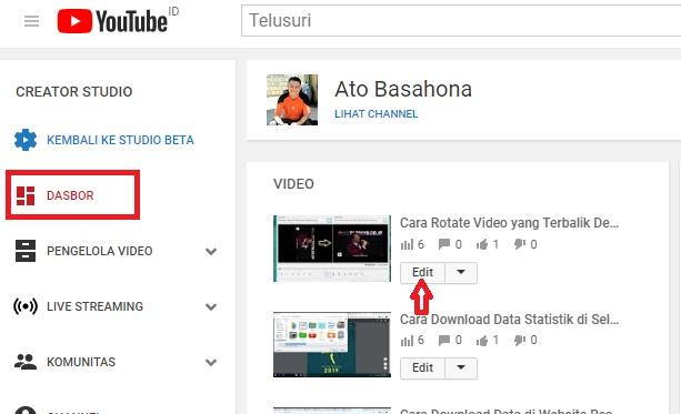 Cara Tambahkan Musik Pada Video Youtube Yang Terlanjur Upload Ato Menulis