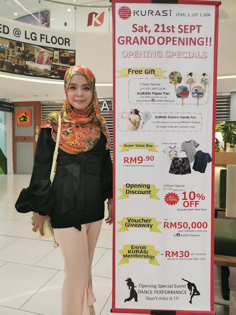Kurasi Malaysia Bakal di Buka 21 September 2109