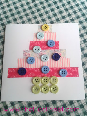 http://www.thelilaclinnet.com/blog/washi-tape-and-button-christmas-card