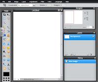 Pixlr interface