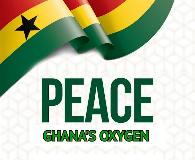 Bright Philip Donkor: Peace is Ghana's oxygen