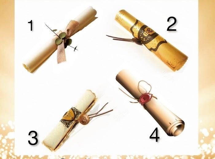 Выберите один свиток и узнайте, что вас ждет в ближайшем будущем