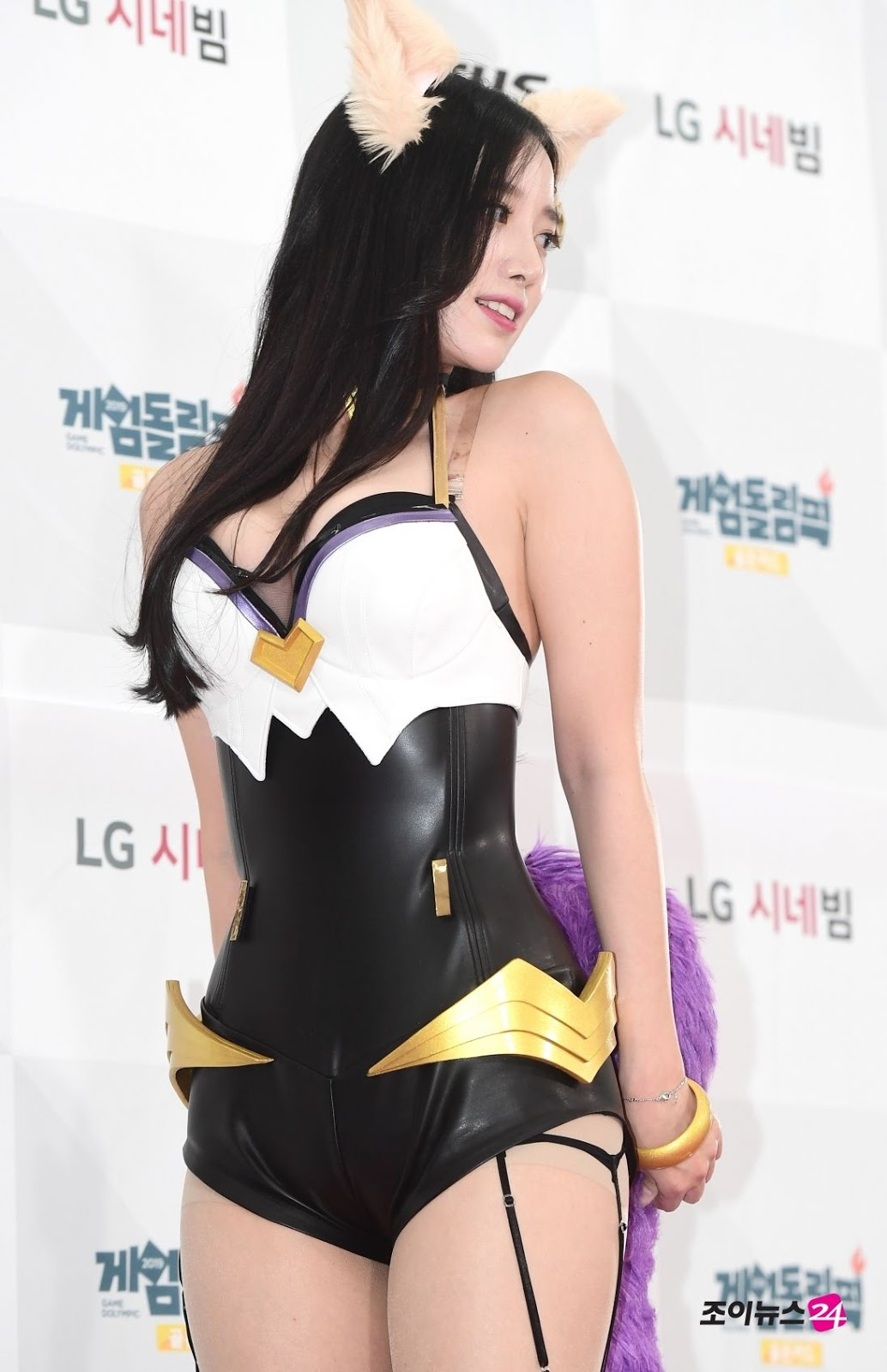 Berry Good Johyun (조현) at OGN's 'Game Dolympic' Red Carpet Event on Monday, 17 June 2019