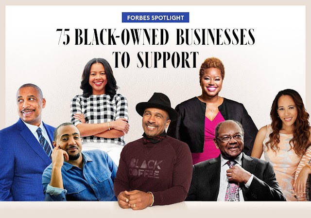 75 Black Owned Businesses to support