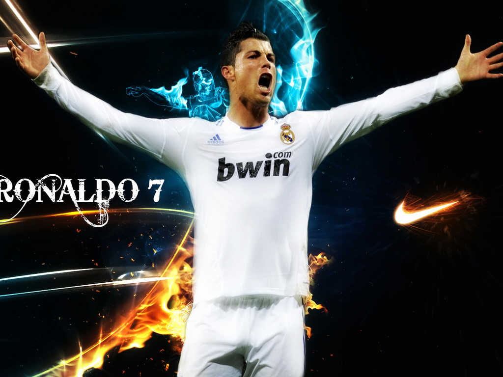Top Football Players: Cristiano Ronaldo Wallpapers 2012