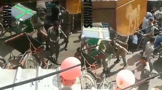 Video Satpol PP Palembang Ngamuk Di Pasar