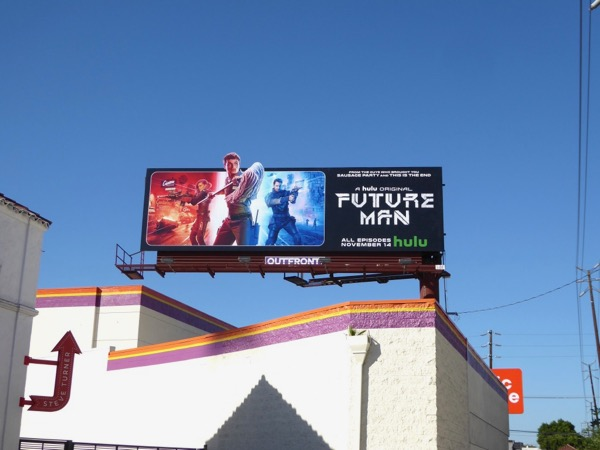 Future Man series premiere billboard