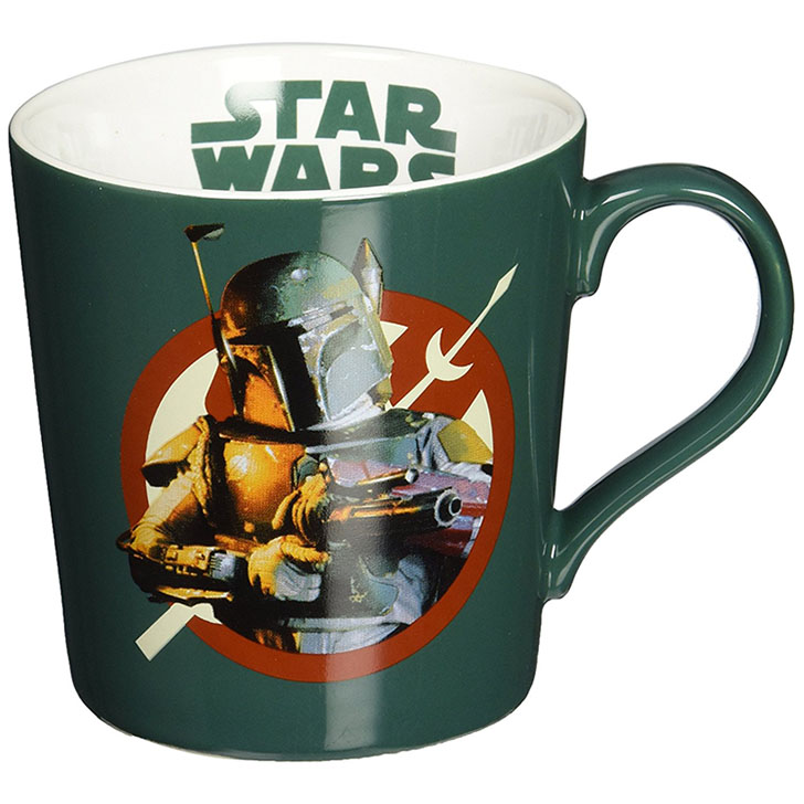 Vandor Star Wars Boba Fett Ceramic 12 oz. Coffee Mug
