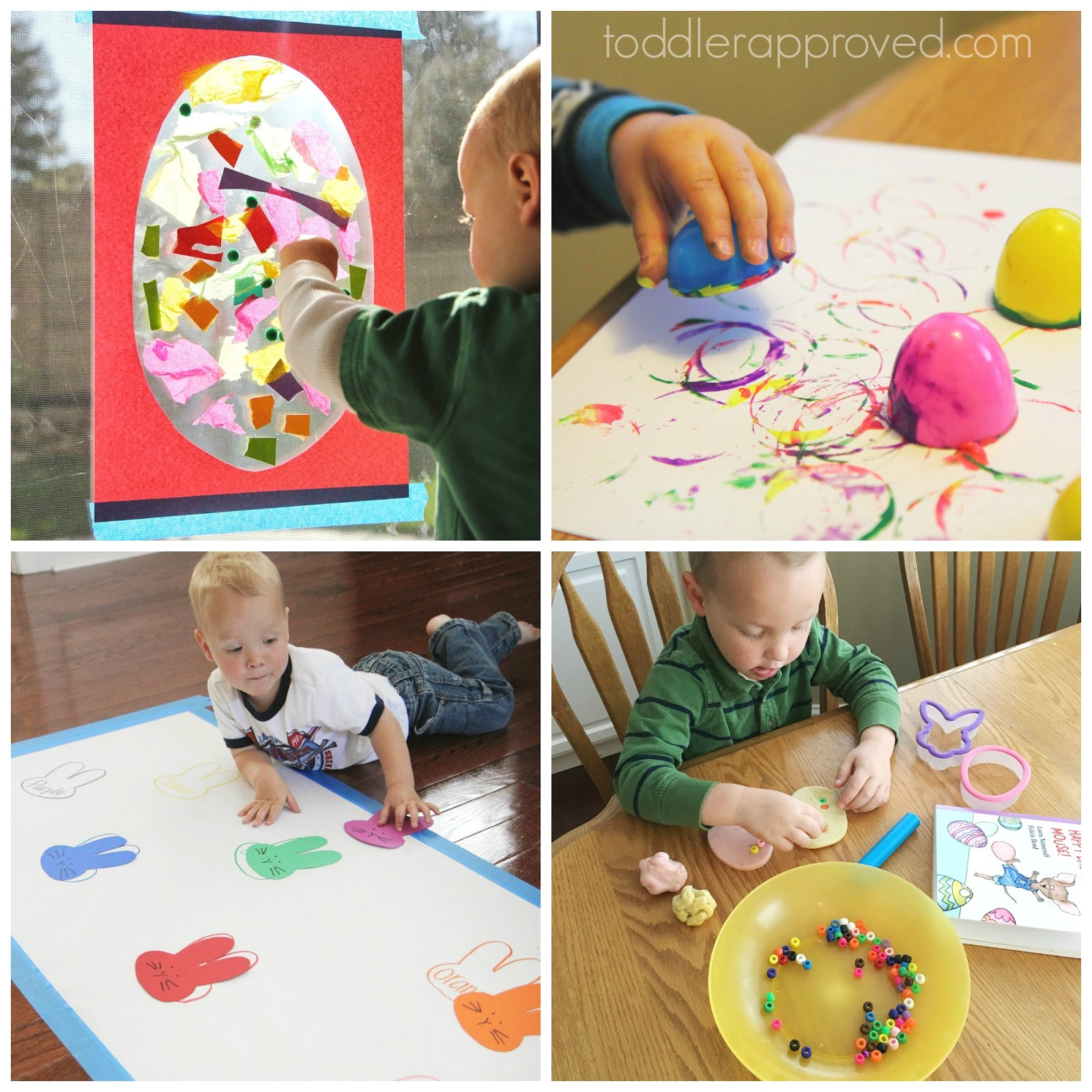 Easter Crafts For Toddlers Age 2 To 4