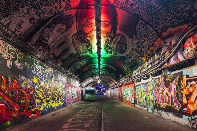 4 unique art streets in London