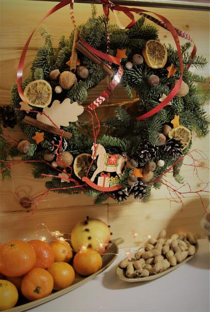 Jak ozdobić drzwi-wianek świąteczny bożonarodzeniowy DIY