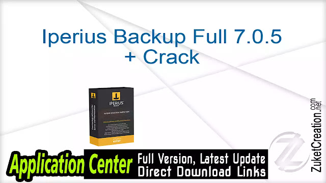 Iperius Backup Full 7.0.5 + Crack