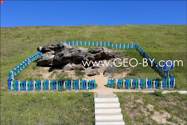 Памятник природы республиканского значения Ледниковый конгломерат и песчаник