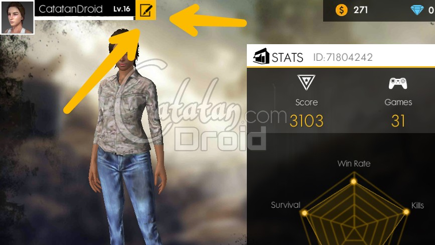 How To Change Name On Garena Free Fire Battleground Game Account