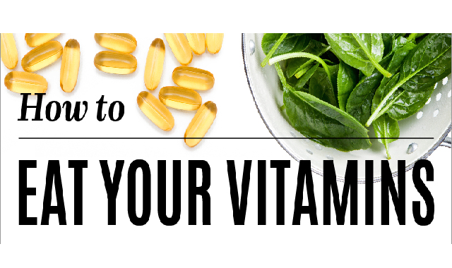 Keeping Up With Your Vitamin Uptake #infographic