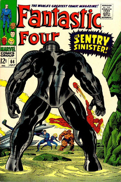 Fantastic Four #64, the Sentry