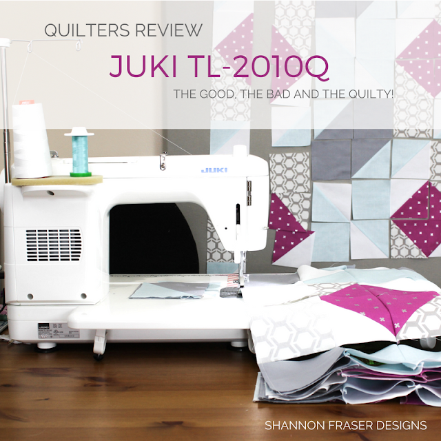 Quilters Review Juki TL-2010Q | Shannon Fraser Designs | Modern Quilting