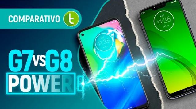 MOTO G8 POWER VS MOTO G7 POWER:DESIGN