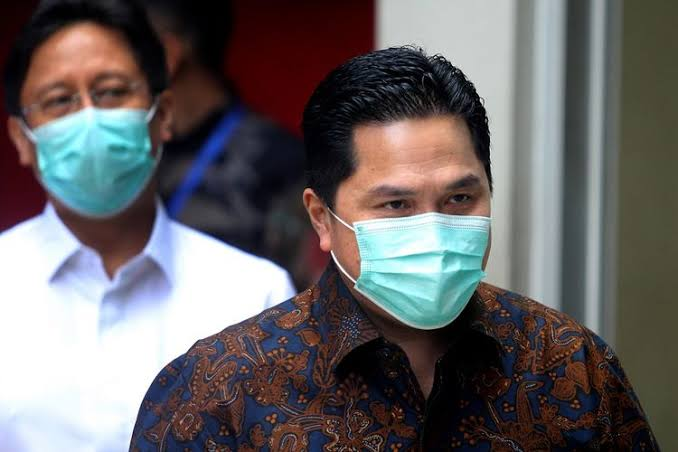 Viral Erick Thohir Tak Ikut Uji Klinis Corona, Ini Penjelasan Kementerian BUMN
