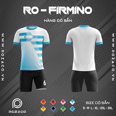Áo Không Logo Rozaco RO-FIMINO Màu Trắng