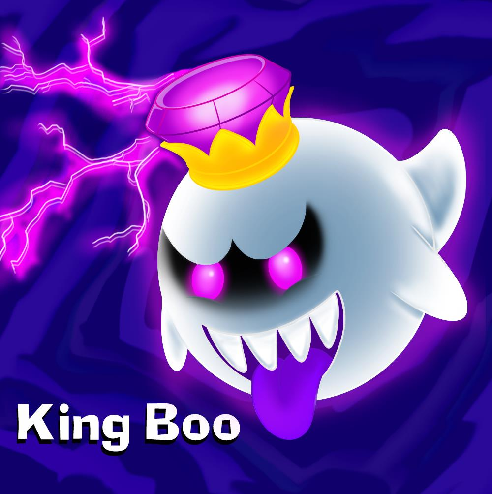 hogg s blog daily sketch x2 king boo sketch and king boo colored