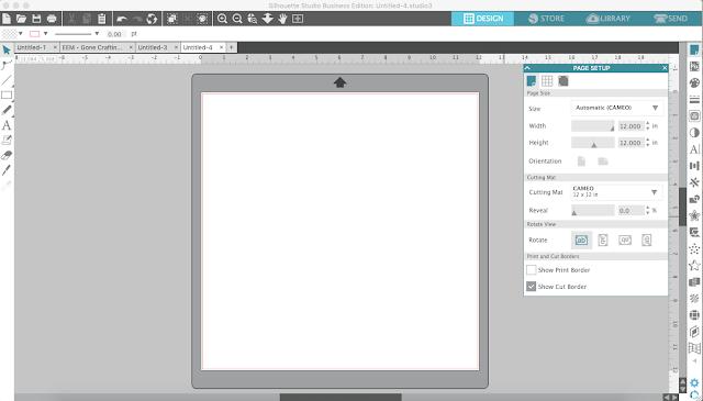 Silhouette Studio Software tutorials, Silhouette Design Studio tutorials, silhouette tutorial, grid box numbers, silhouette grid box