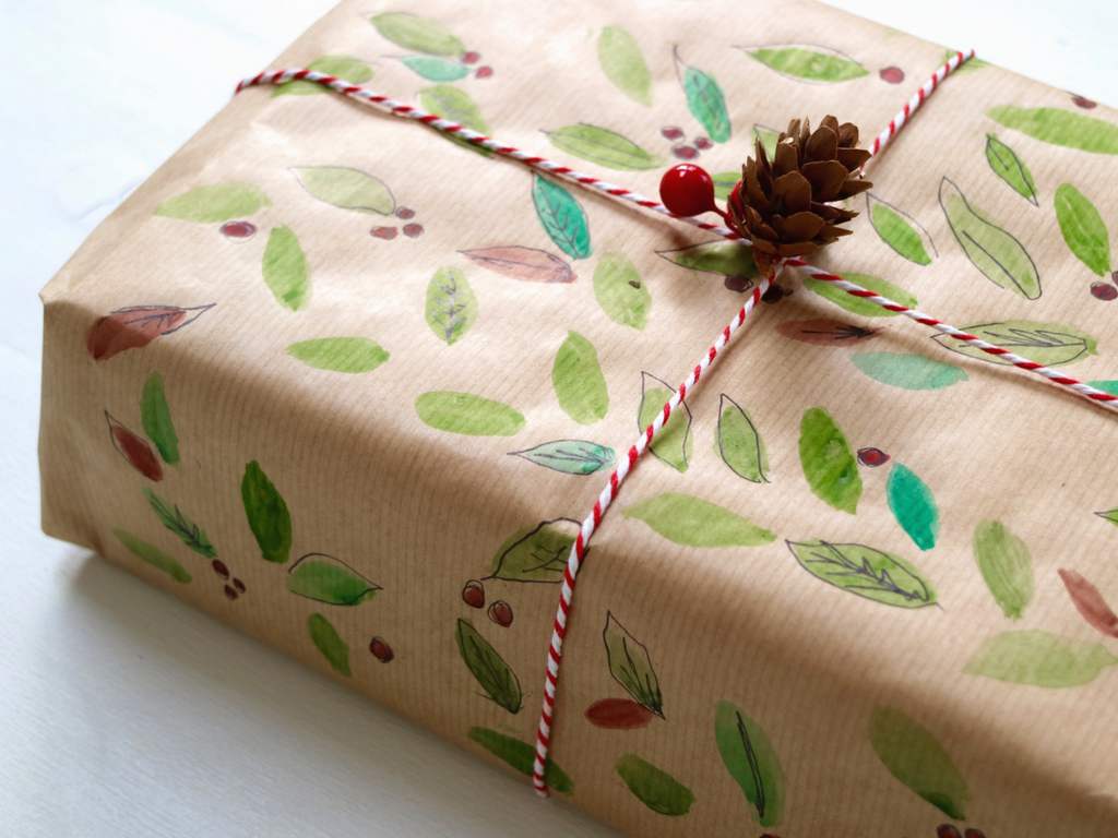 4 brown paper gift wrap ideas the freckled fieldnotes