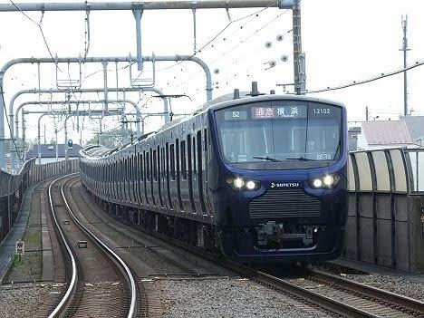 【ダイヤ改正で新設】JR線直通用の12000系が通勤急行 横浜行き充当!