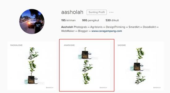Cara simpan foto di instagram ke galeri