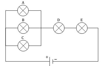 Contoh soal rangkaian lampu pijar identik