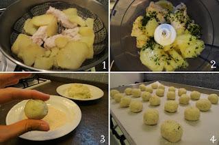 foto preparazione Ricetta crocchette al forno di merluzzo e patate per bambini