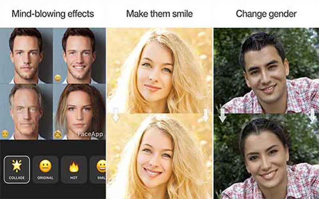 FaceApp Pro 3.4.6 Full Apk for Android - Ghép mặt online