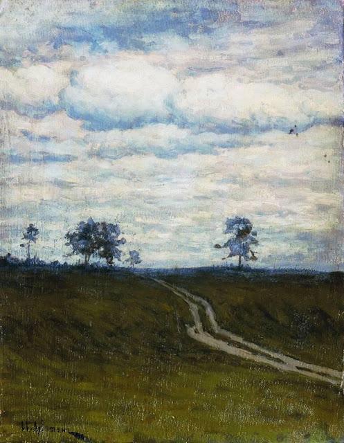 Исаак Ильич Левитан - Сумрачно. 1899