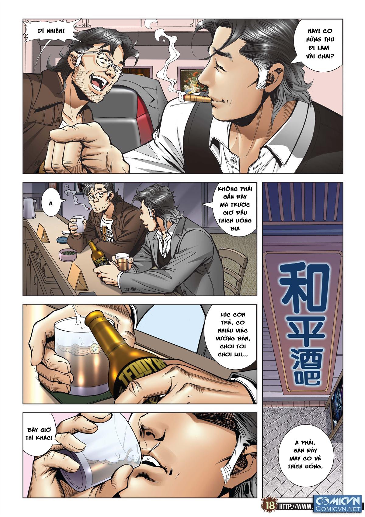 Người Trong Giang Hồ chapter 2113: cự tinh chi chiến trang 16