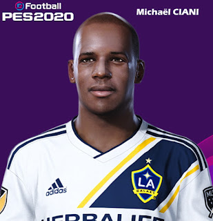 PES 2020 Faces Michaël Ciani by Milwalt