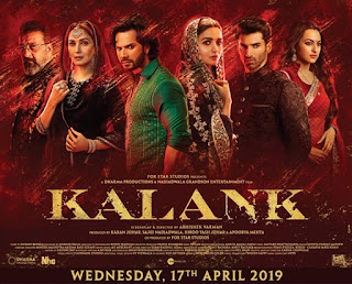 Kalank Movie Budget, Screens & Box Office Collection India, Overseas, WorldWide