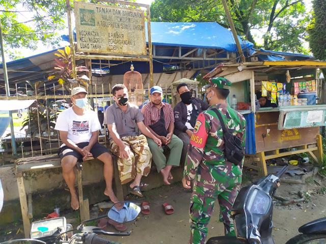 Tempat Wisata Tekosima Dijaga Ketat Oleh Personel Jajaran Kodim 0207/Simalungun Diwilayah Binaan